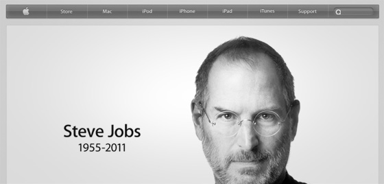 Steve Jobs RIP vandeWerk An #iSad Way to Start a Day. RIP Steve Jobs